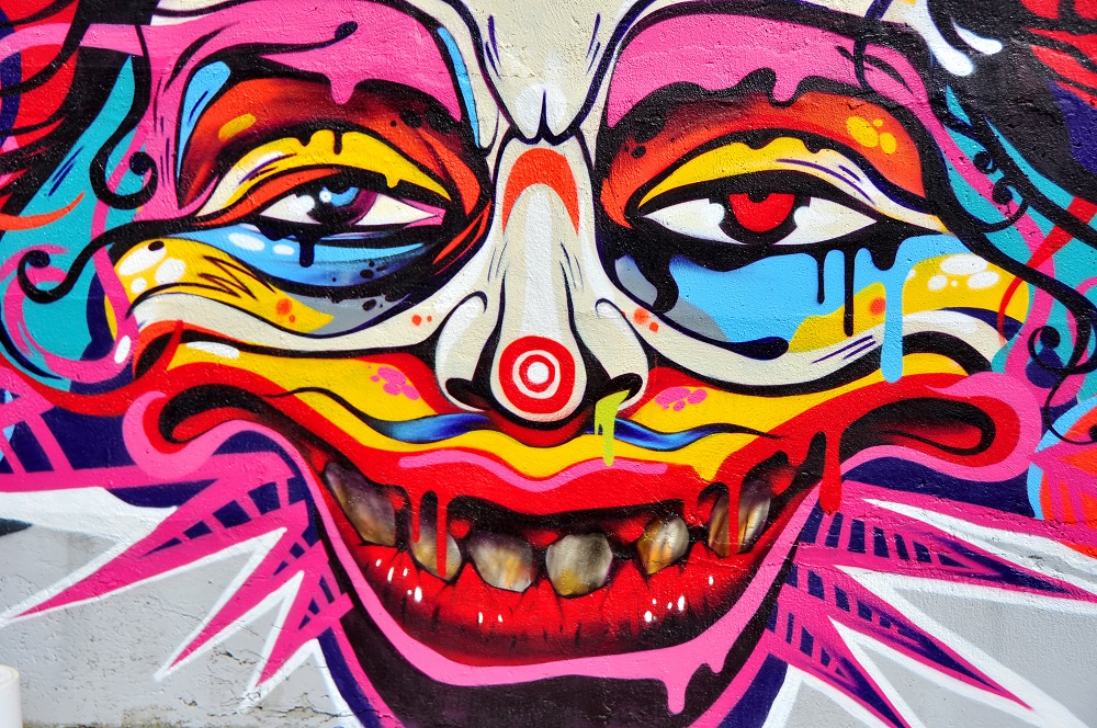 Customised murals for Graffiti mural